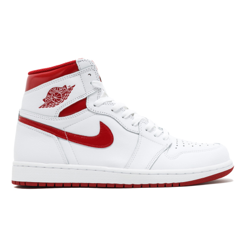free shipping eb56f 2ae46 JordanAir Jordan 1 Retro High OG Metallic Red555088 103WHITE VARSITY RED