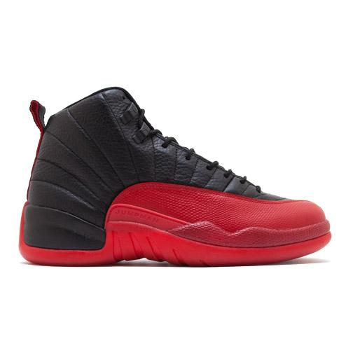 d7ef815dd0f JordanAir Jordan 12 Retro Flu Game 2016130690 002BLACK/VARSITY RED