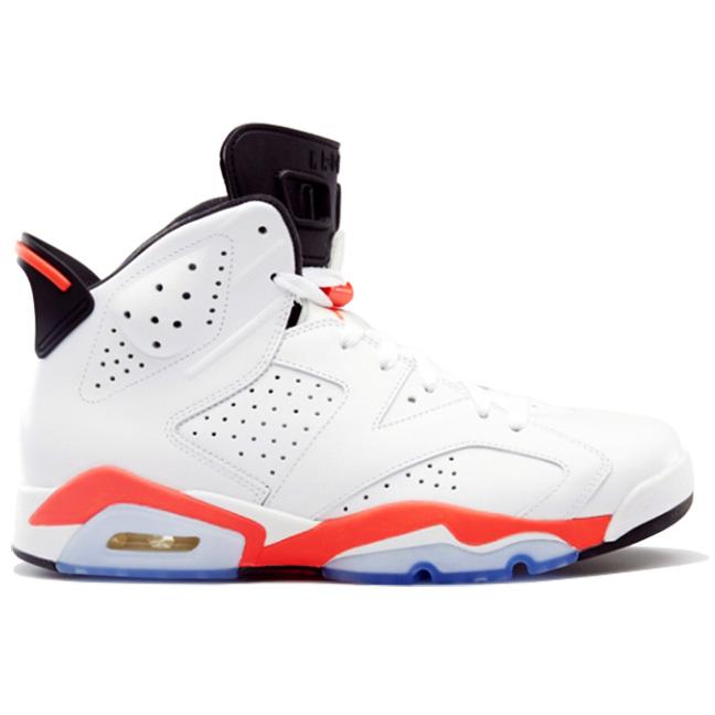 c801c77e261 JordanAir Jordan 6 Retro White Infrared 2014384664 123WHITE/INFRARED-BLACK